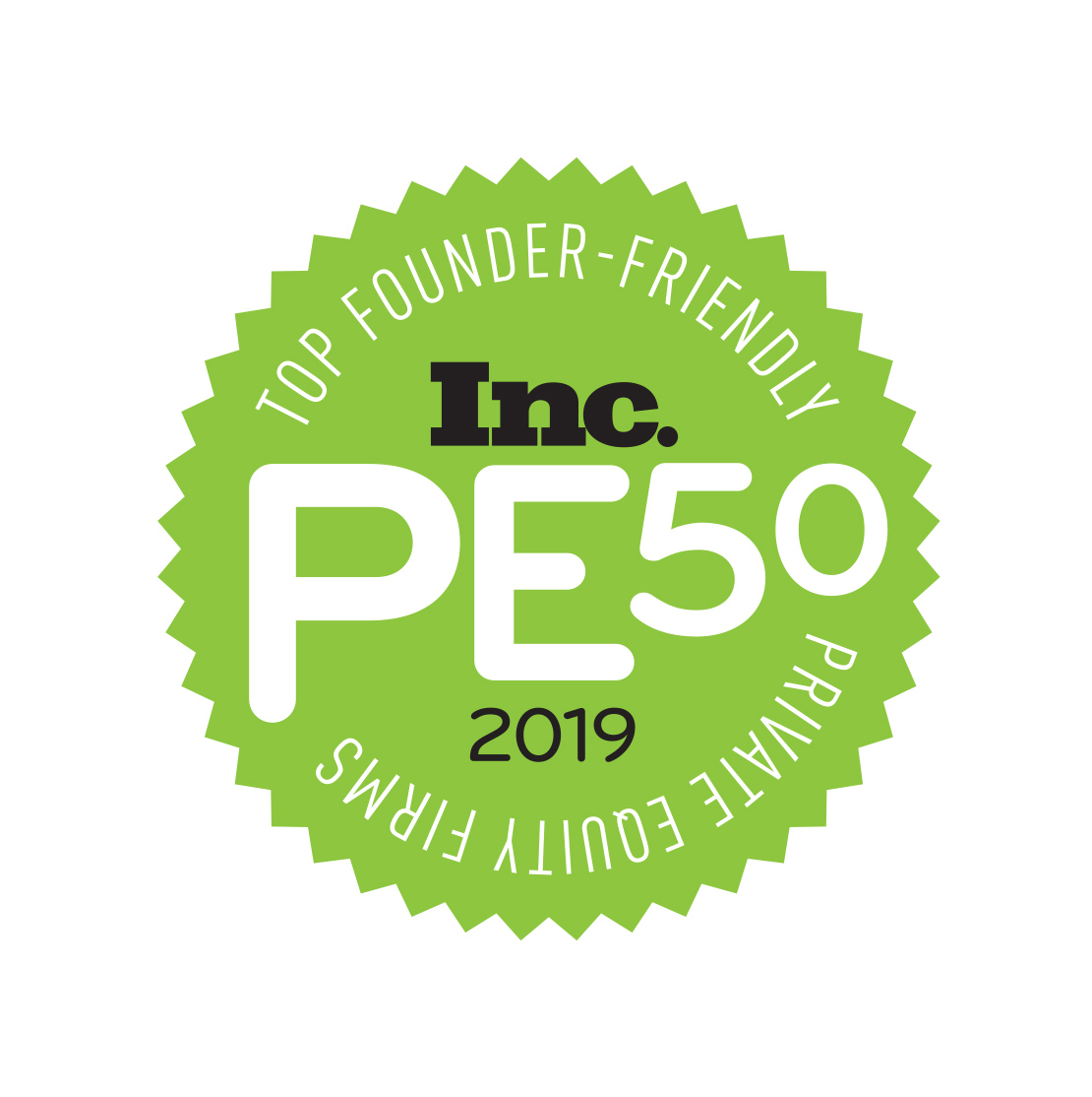 Quad-C named to Inc.'s List of Top 50 Private Equity Firms for Entrepreneurs